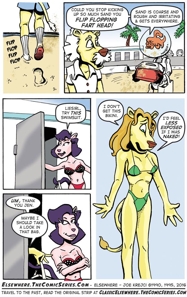Bikining to Flip Flop