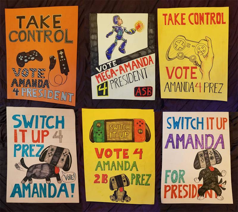 Vote Amanda