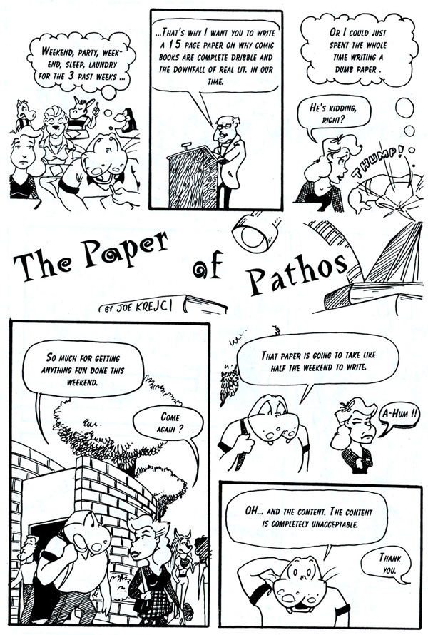 Elsewhere- The Paper of Pathos