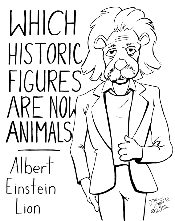 Which Historical Figures Become Animals?