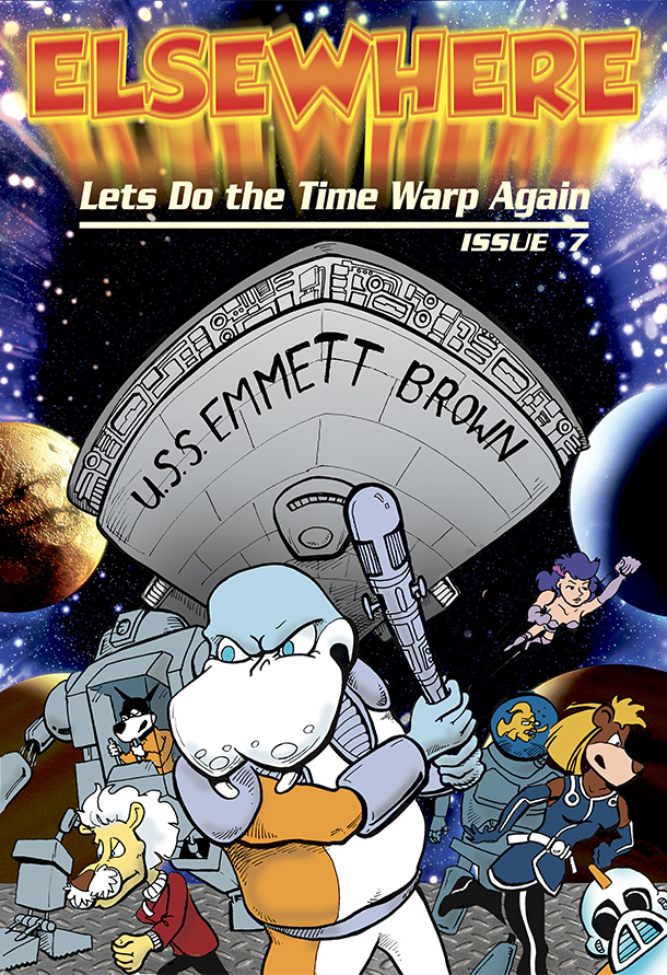 Lets Do The Time Warp Again - Cover Issue 7