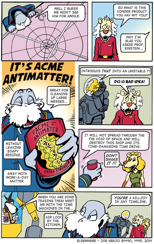 It's Acme Anti Matter