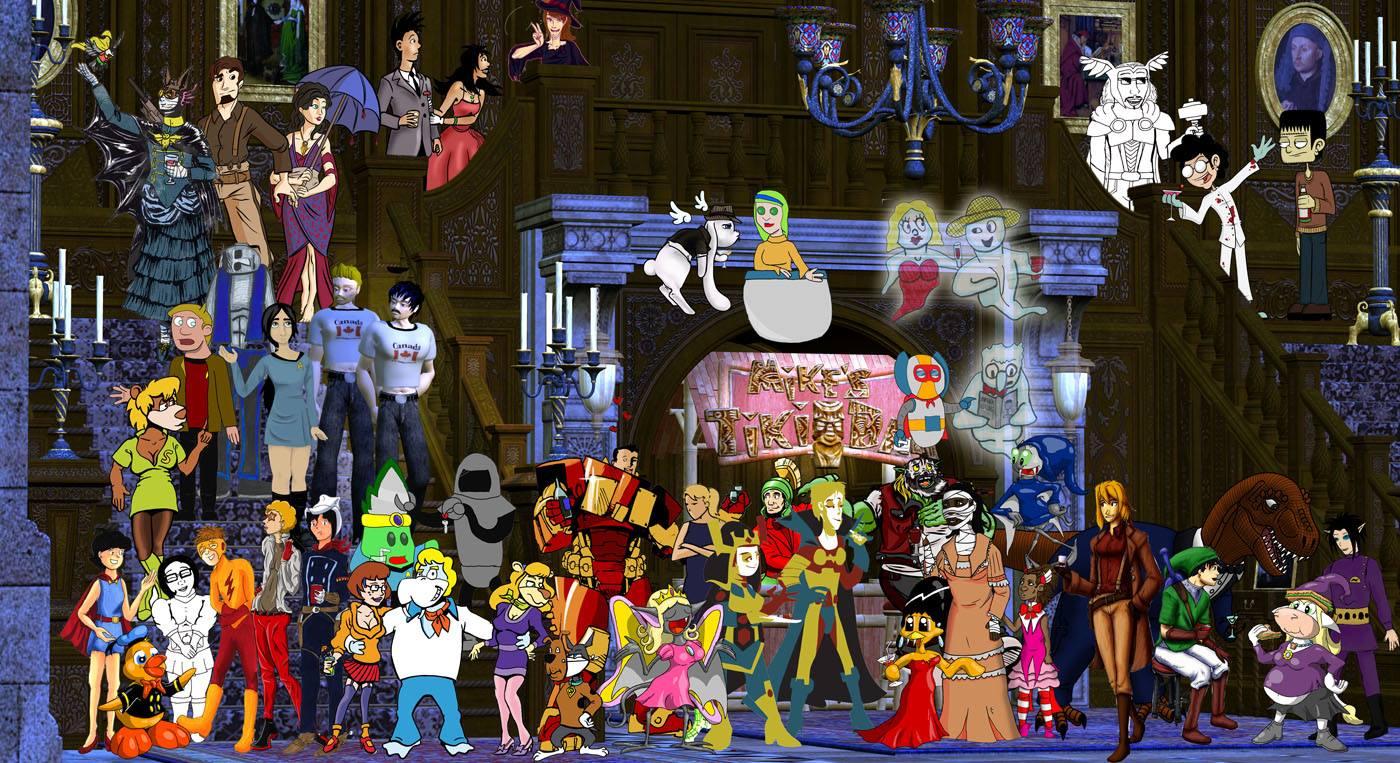 Webcomic Underdogs Halloween